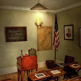 School - Classroom - Welcome To Class by Mike Savad