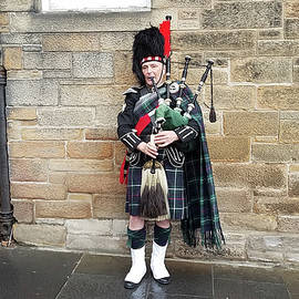 Scottish Piper by Timothy Lowry