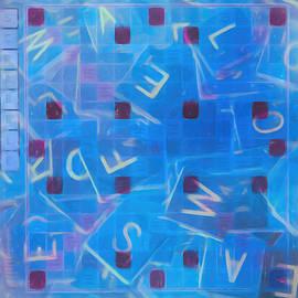 Scrabble Art by Dan Sproul