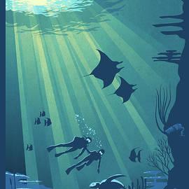 Scuba Dive by Sassan Filsoof