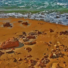 Sea. Sand. Waves. Wind. Stone. by Andy Za