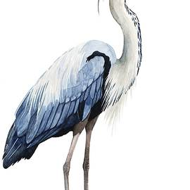 Grace Popp - Seabird Heron II