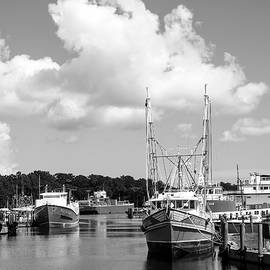 Seafood Catcher BW by Norman Johnson
