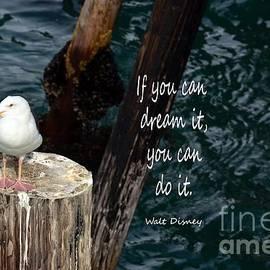 Seagull Dreamer by Debby Pueschel