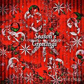 Season's Greetings Holiday Art by Laurie's Intuitive