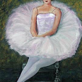 Seated Ballerina by Lyric Lucas
