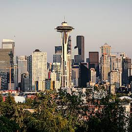 Seattle Skyline II by Athena Mckinzie