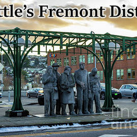 Seattle's Fremont District  by G Matthew Laughton