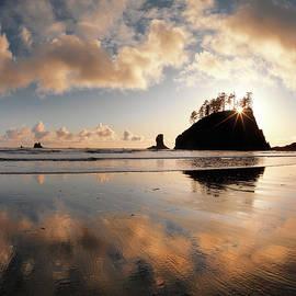 Second Beach by Leland D Howard