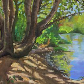 Secret Swimming Hole by Tara D Kemp