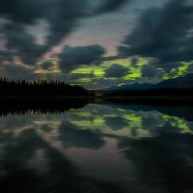 Seeley-Swan Aurora by Matt Hammerstein