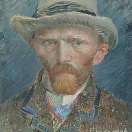 Self-portrait, 1887 By Van Gogh by Vincent Van Gogh