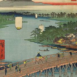 Senju Great Bridge, 19th century by Utagawa Hiroshige
