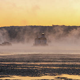 September Dawn on the Hudson by Jeff Severson