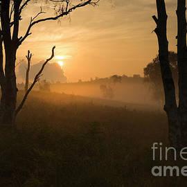 September Sunrise  by Ron Evans