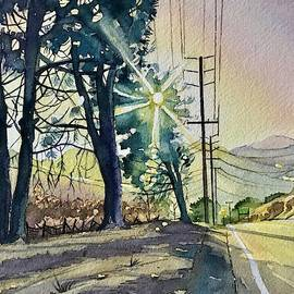 Three Pines on Mulholland by Luisa Millicent