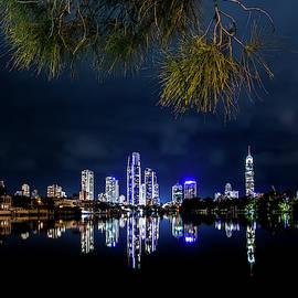 Serene Skyline by Az Jackson