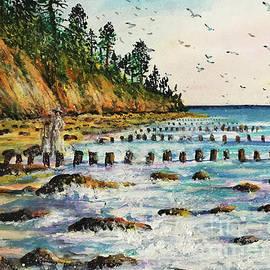 Serenity on The Beach by Dariusz Orszulik