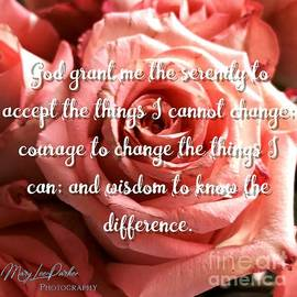 Serenity Prayer Ii by MaryLee Parker