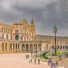 Seriously Seville, Textured by Marcy Wielfaert