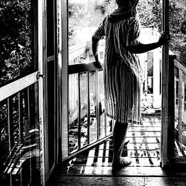 Shadow Open Door by Sharon Popek