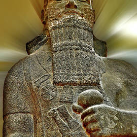 Shalmaneser III. Ancient Art. by Andy Za