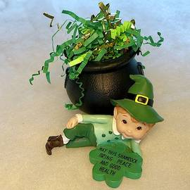 Shamrock Blessing by Denise Mazzocco