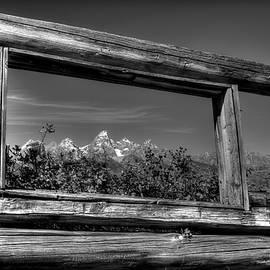 Shane Cabin Window by Michael Morse