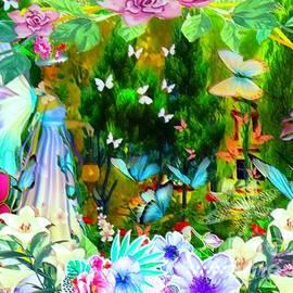 She Who Walks With Butterflies by Debra Lynch