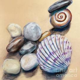 Shells and Pebbles  by Lavender Liu
