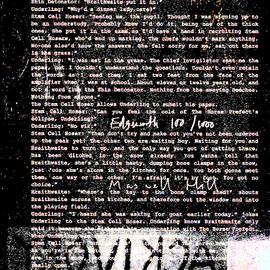 Shin Detonator Book Dada Page 100r2 by Artist Dot