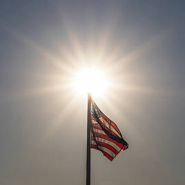 Shine Bright American Flag by Terry DeLuco