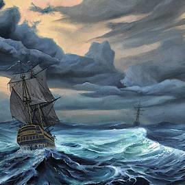 Ship  by Atanasov Art