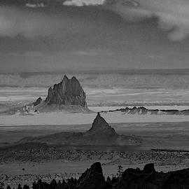 Shiprock as Viewed from Buffalo Pass  by S Katz