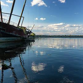 Shipwrecked Reflection by Su Buehler