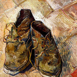 Shoes 1888 Van Gogh by Vincent Van Gogh