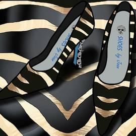 Shoes by Joan - Zebra Pattern Pumps by Joan Stratton