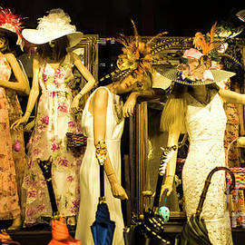Shop Window At Night, French Quarter, New Orleans by Felix Lai