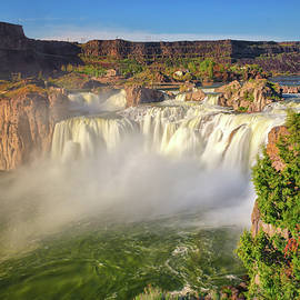 Shoshone Falls Spring Rage by Greg Norrell