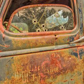 Shot Down Window by Jurgen Lorenzen