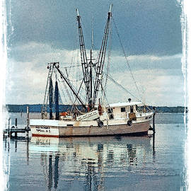 Shrimper at Sneads Ferry by George Moore