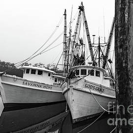 Shrimper Day Off by Norma Brandsberg