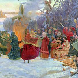 Shrovetide. Farewell to Winter. XVII Century by Simon Kozhin