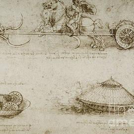 Sickle Tank by Leonardo Da Vinci