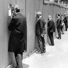 Sidewalk Superintendents Watching by New York Daily News Archive