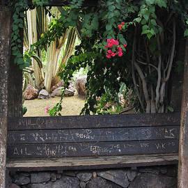 Sign Your Name Fuerteventura by Eddie Barron