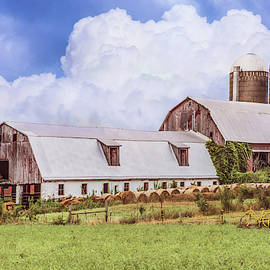 Silos in Country Colors by Debra and Dave Vanderlaan