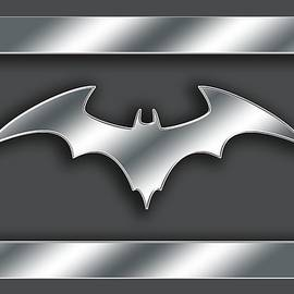 Silver Bat Transparent by Chuck Staley