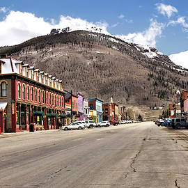 Silverton Colorado - The Main Street 1 by John Trommer