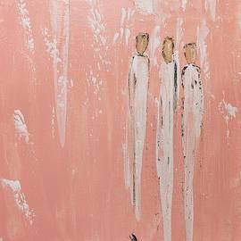 Friendship Angels in pink by Jennifer Nease